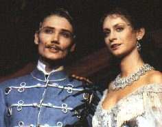 Andreas Bieber as Rudolf and Pia Douwes as Elisabeth